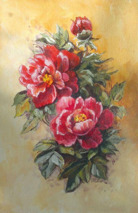 Red flowers - ArtistGalina