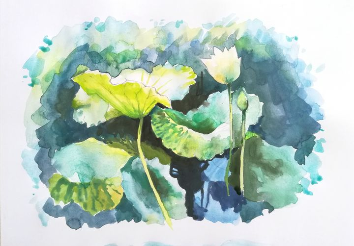 water lily - ArtistGalina