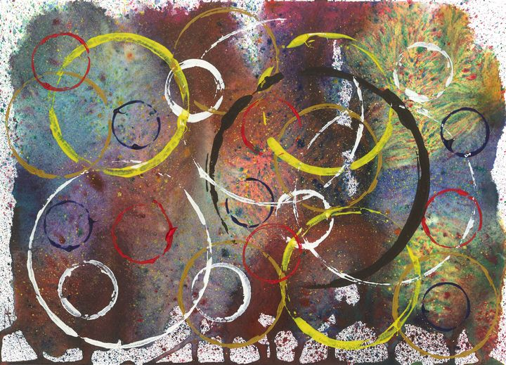 Rings of Change II - James Knights Art