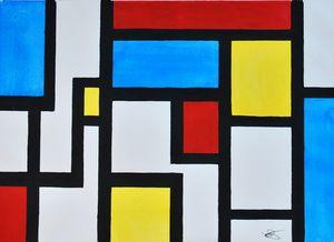 Tribute to Mondrian I