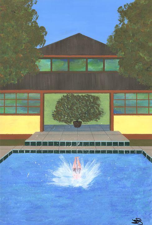Splash! Tropical Villa - James Knights Art