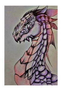 Purple/Pink Dragon