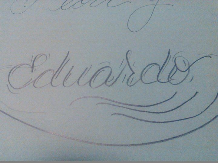 eduardo name - Cursive names by nina