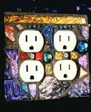 Mosaic Double Outlet Cover