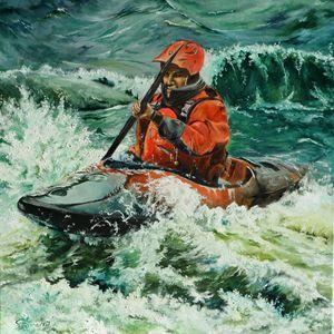 Open Water Kayaking - Steve James