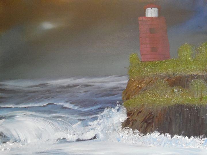 Abandoned Lighthouse - Poppy