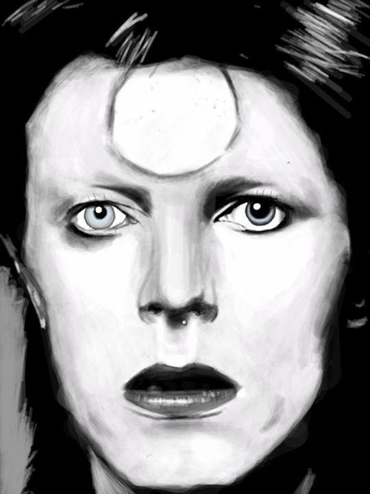 David Bowie - Paiges Art
