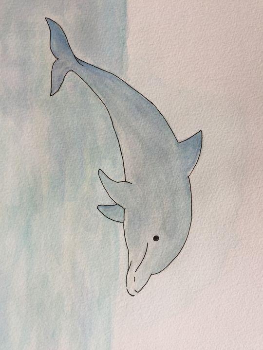 Dolphin - Kelly's Art