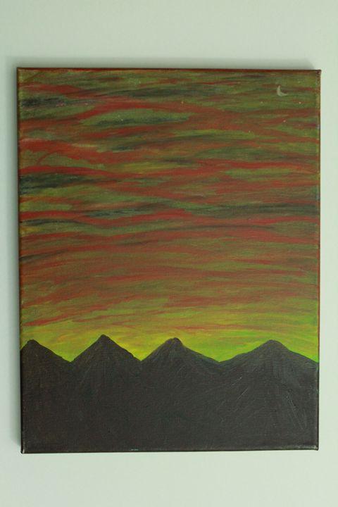 Acrylic mountains - EmptyMind