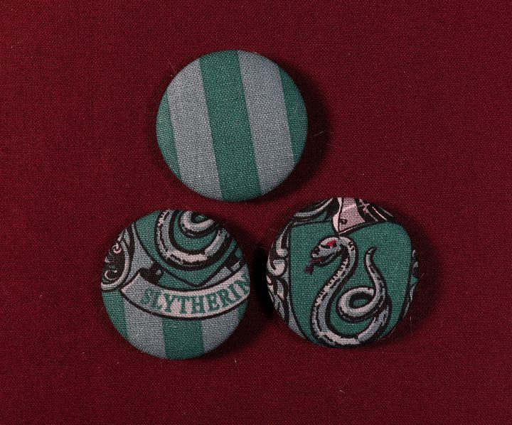 Slytherin Pin Badges - Alchemy Art