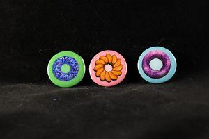 Donut Pin Badges