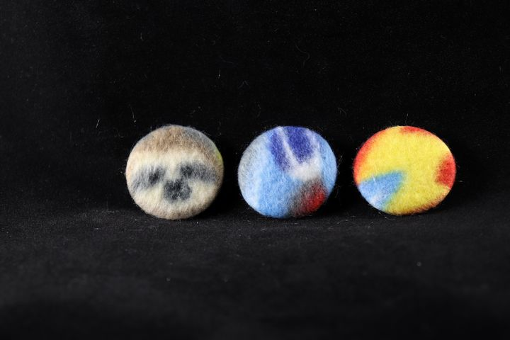 Sloths In Space Pin Badges - Alchemy Art