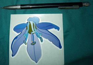Purple Amaryllis Sticker