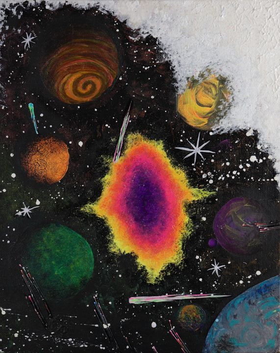 Galactic Fungus - Alchemy Art