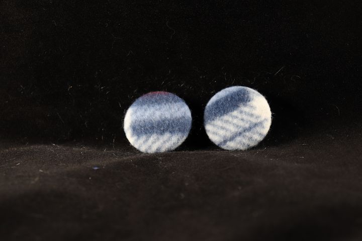Abstract Fabric Badges - Alchemy Art