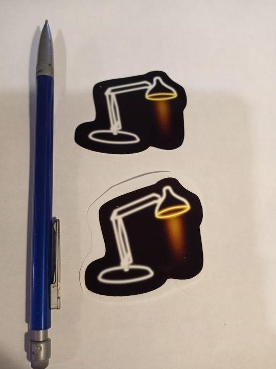 Luxo Neon Sign Sticker - Alchemy Art