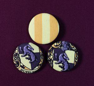 Hufflepuff Pin Badges