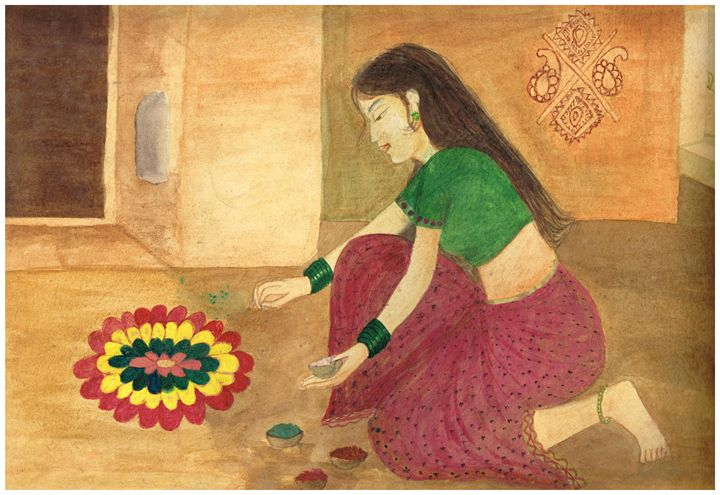 Traditions of India - Pooja's Art