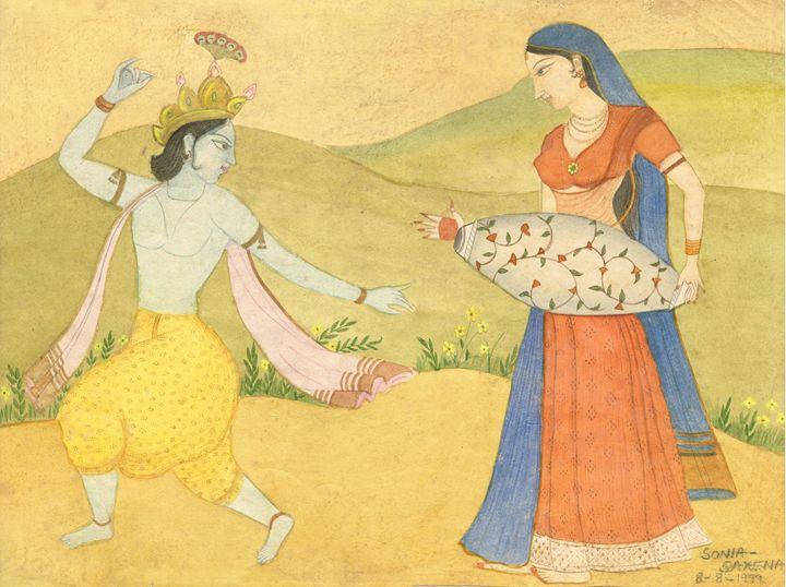 Beautiful Madhubani Art - Pooja's Art