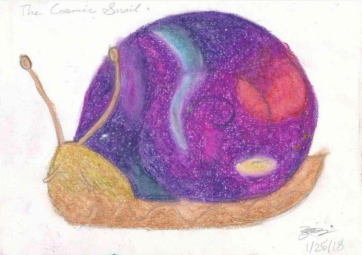 The Cosmic Snail - The Secret Gallery of Zalzara the Benevolent