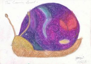 The Cosmic Snail