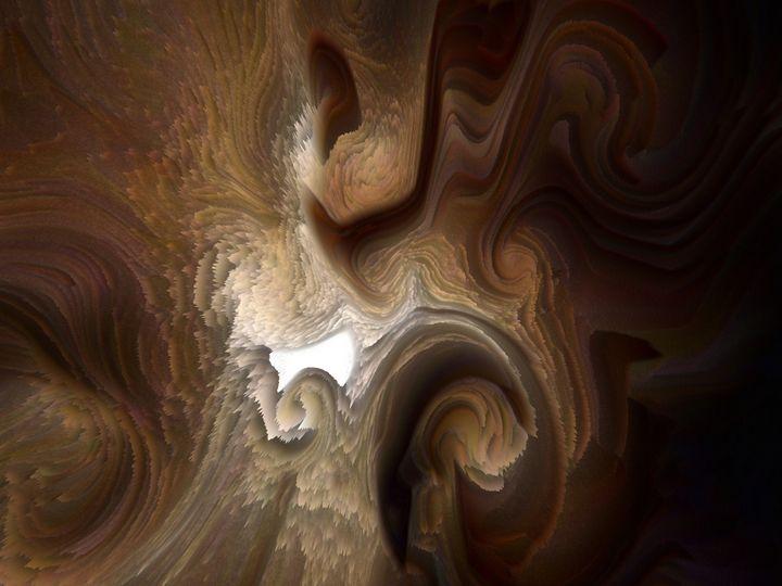 Cosmic cave - Tilt N Swirl Designs by Leanne Dailey