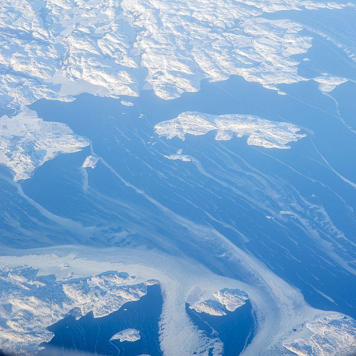 Aerial Ice, Snow 'n Sea - Shootitall Photo