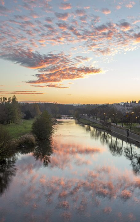 Sunset at Canal du midi - Shootitall Photo