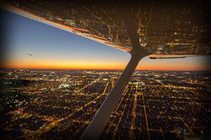 Montreal NIght Flight