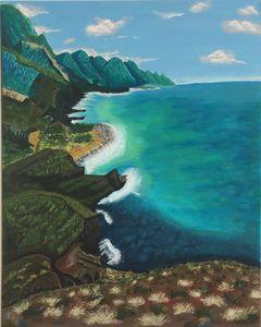 OCEAN AND ROCKS IN GRAN CANARIA