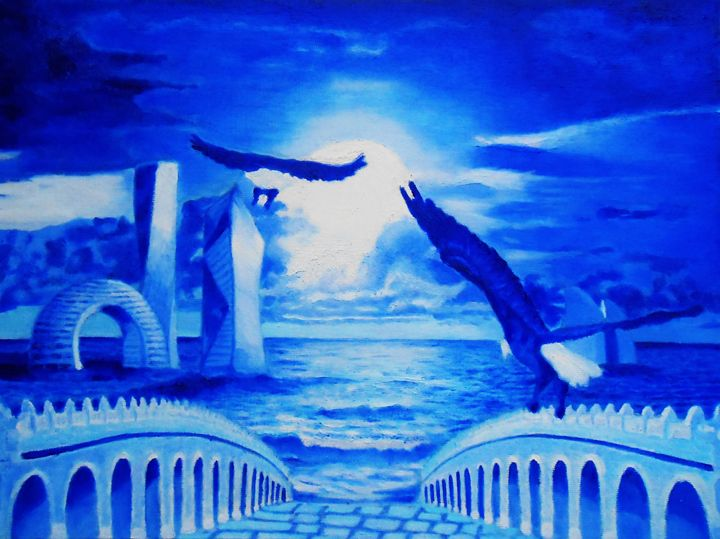 Flying to the dream - Maryna Povhanych