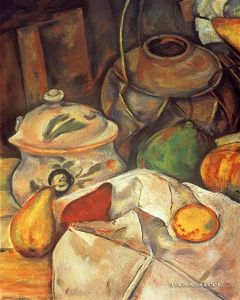 after Cézanne Still life with Fruits