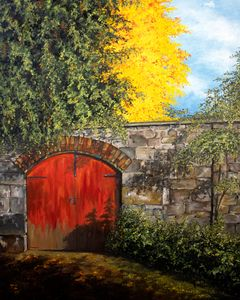 a gate - TAZA ARTE