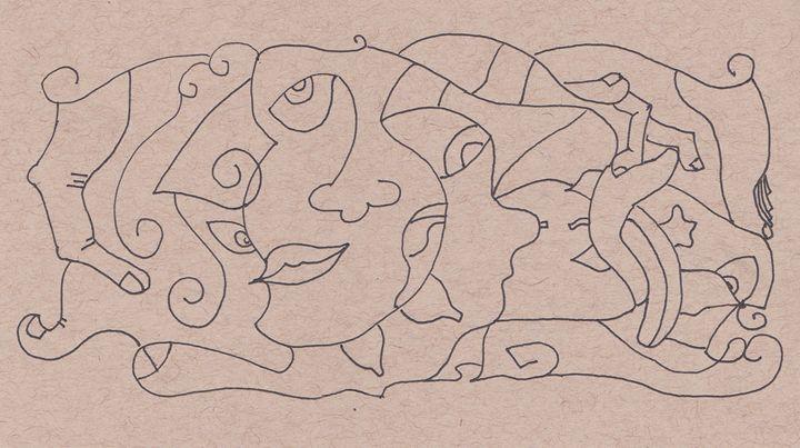 Lines - Ray's artworld