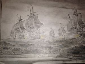 the Battle off the Virginia Capes