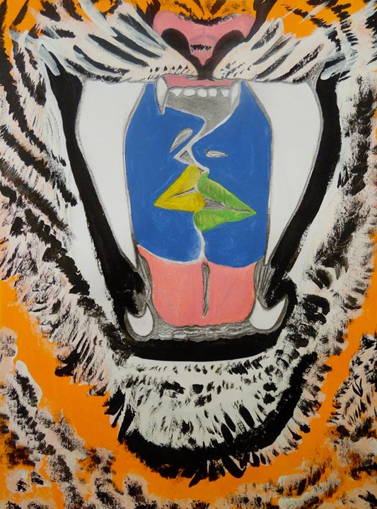 Kissing in the Tiger's Mouth - Nicole Burrell