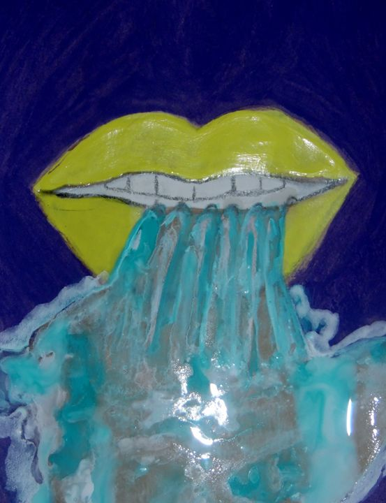 Waterfalls out the Mouth - Nicole Burrell