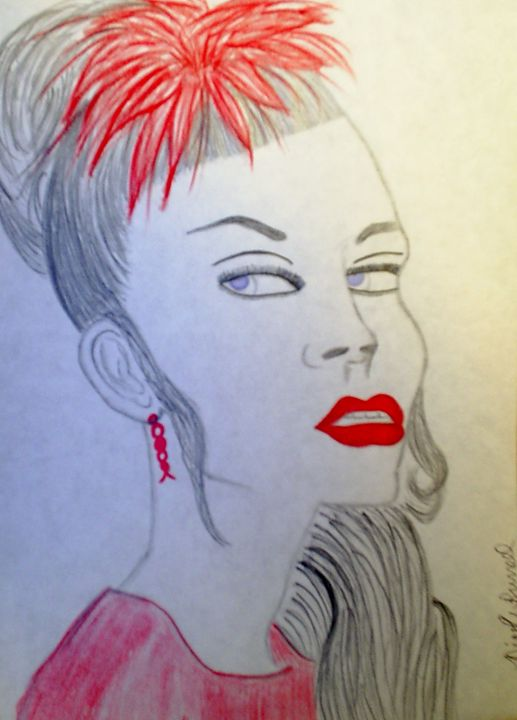 Lady in Red - Nicole Burrell