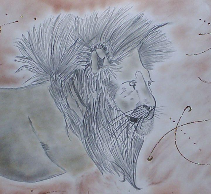 Gold Lion - Nicole Burrell