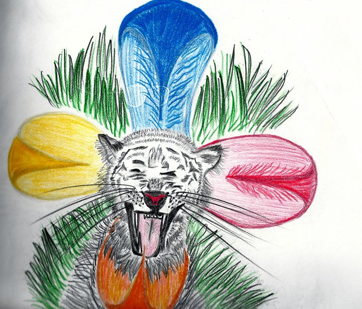 Screaming Tiger - Nicole Burrell