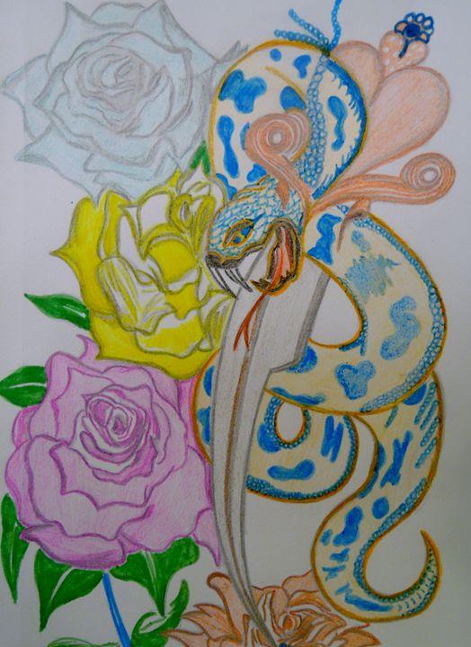 Snake on a Blade - Nicole Burrell