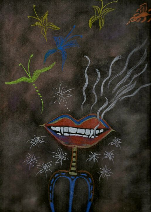 Vampire Lips - Nicole Burrell