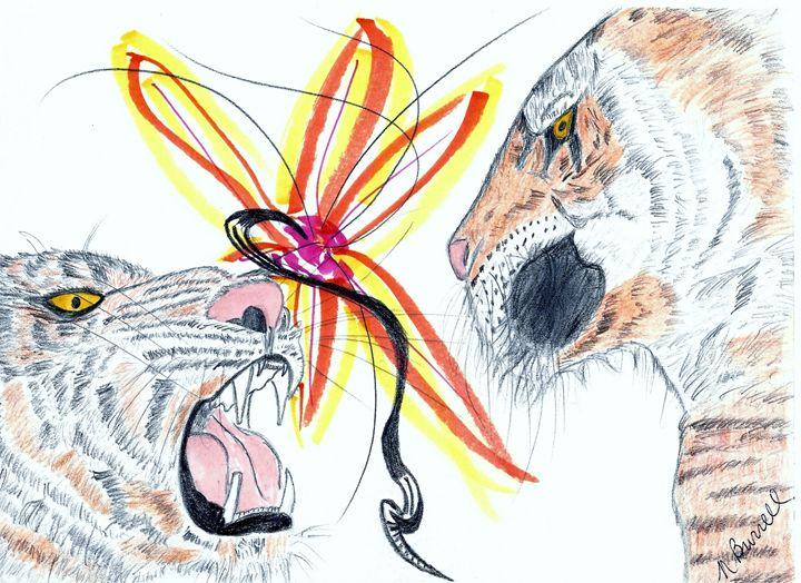 2 Tigers in Love - Nicole Burrell
