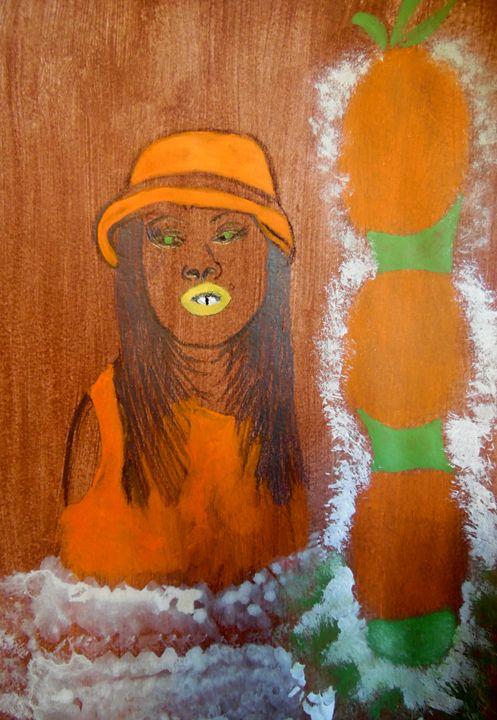 Fashionable in Orange - Nicole Burrell