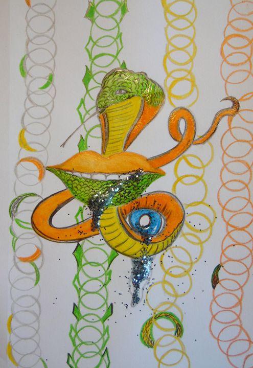 Snaked Lip - Nicole Burrell