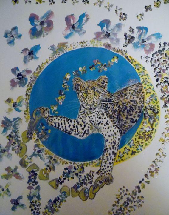 Moon Leopard - Nicole Burrell