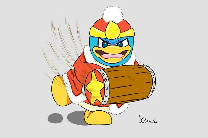 King DeDeDe and his Hammer - SeanTen10's Drawings