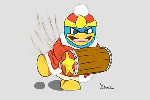 King DeDeDe and his Hammer