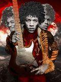 Jimi Hendrix giclee art print