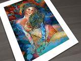 Graffiti Dreamer - giclee print